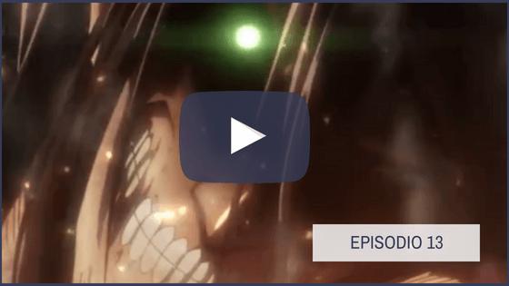 Shingeki no Kyojin Temporada 1 Capitulo 13