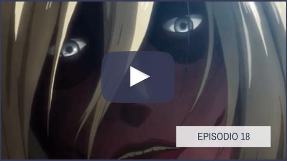 Shingeki no Kyojin Temporada 1 Capitulo 18