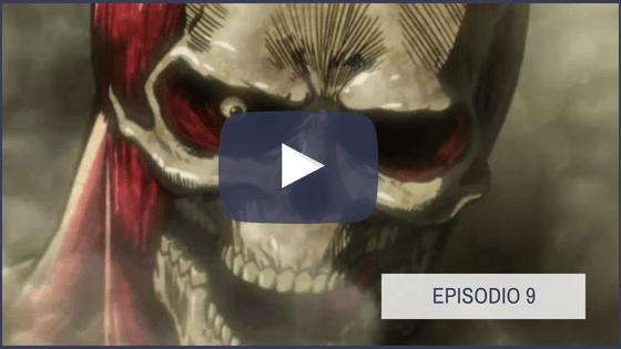 Shingeki no Kyojin Temporada 1 Capitulo 9
