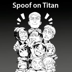 leer manga spoof on titan en español