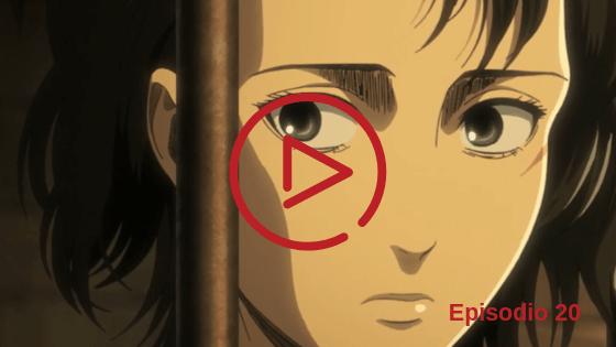 Shingeki no Kyojin Temporada 3 Capitulo 20