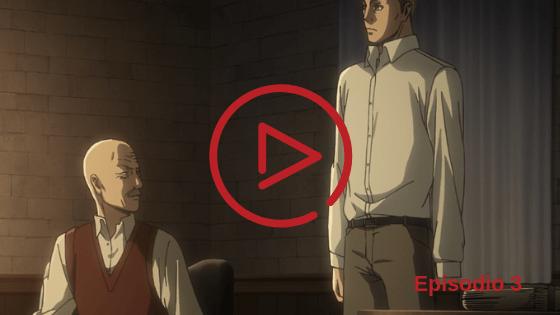 Shingeki no Kyojin Temporada 3 Capitulo 3